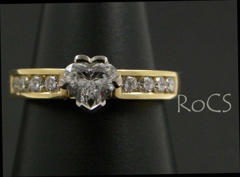 04339123c2 Custom heart shaped diamond engagement ring » Richmond RoCS Nelson ...