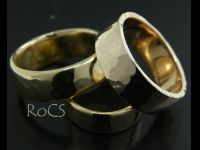 Assorted gold bands